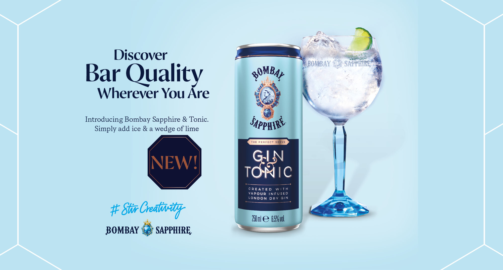 Bombay G&T can
